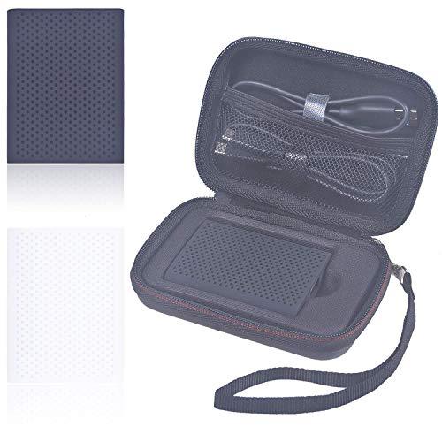 Larcenciel Samsung T5 SSD Gehäuse Reise tragen schützende Lagerung, Samsung T3 Stoßfestes Eva-Etui Für Samsung T5/ T3/ T1 Portable SSD-USB 3.1 Externe SSD mit Kabel-Organizer-Tasche