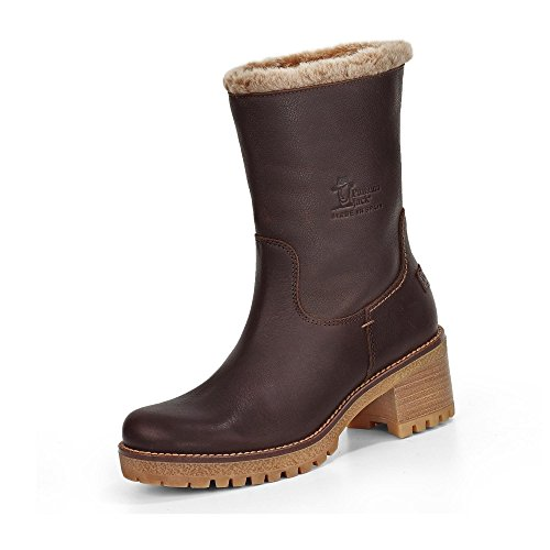 PANAMA JACK Boots für Damen PIOLA B6 Napa Grass Marron, Braun, 40 EU