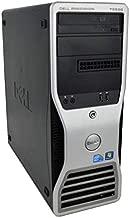 Dell Precision T5500 Workstation 2X X5650 Six Core 2.66Ghz 12GB 500GB Dual DVI (Certified Refurbished)