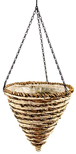SuperMoss (29660) Wood Woven Baskets - Cone Style, Mammoth 12
