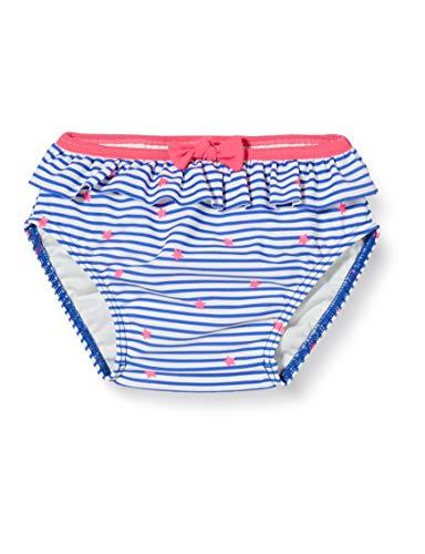 Sanetta Baby-Mädchen Schwimmwindel Bikinislip, Blau (Blau 50286), 62 (Herstellergröße: 062)