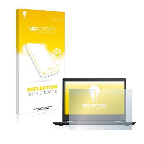 upscreen Entspiegelungs-Schutzfolie kompatibel mit Lenovo TinkPad Yoga 370 – Anti-Reflex Bildschirmschutz-Folie Matt