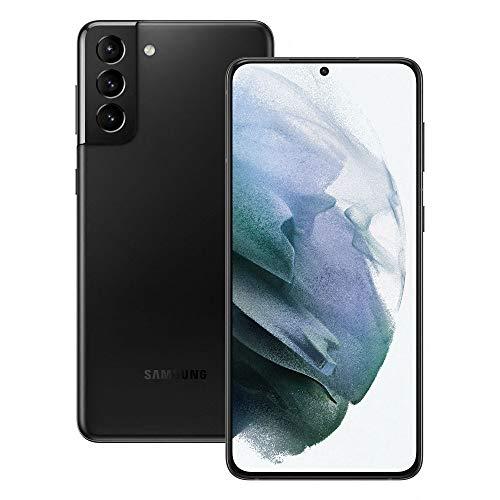 Samsung Smartphone Galaxy S21+ 5G, Display 6.7  Dynamic AMOLED 2X, 3 fotocamere posteriori, 256 GB, RAM 8GB, Batteria 4800mAh, Dual SIM + eSIM, (2021) [Versione Italiana], Nero (Phantom Black)