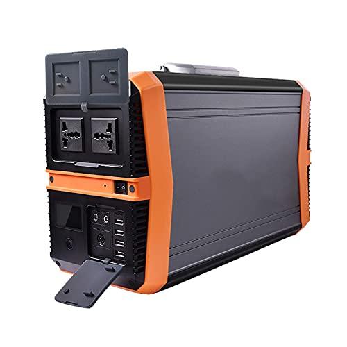 Centrale Elettrica Portatile Centrale Elettrica Portatile Da 1500 W, Generatore Solare 417600 Mah Batteria Di Backup Cpap Alimentazione Di Emergenza Con Ca, 12 V 10 A Cc, Usb, Per Viaggio In