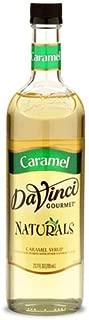 DaVinci Gourmet Natural Coffee Syrup, Caramel, 25.4 Ounce Bottle