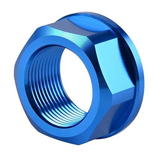 DShanLa Tuerca de Rueda Trasera para k.t.m 125 150 200 250 300 350 400 450 SX SXF XC XCF 1090 1190 1290 Aventura ADV R T T T T 2014-2021 2020 para Husqvarna DShanLa (Color : Blue)