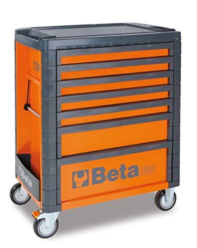 Beta C33 Gereedschapswagen met zeven schuifladen 1010x490x800 mm rood