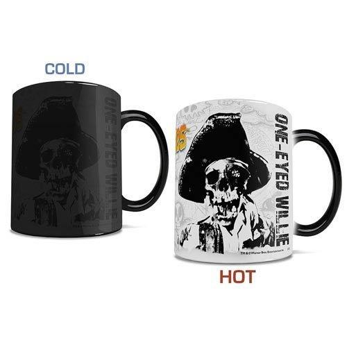 Morphing Mugs Goonies (One Eyed Willie) Ceramic Mug, Black