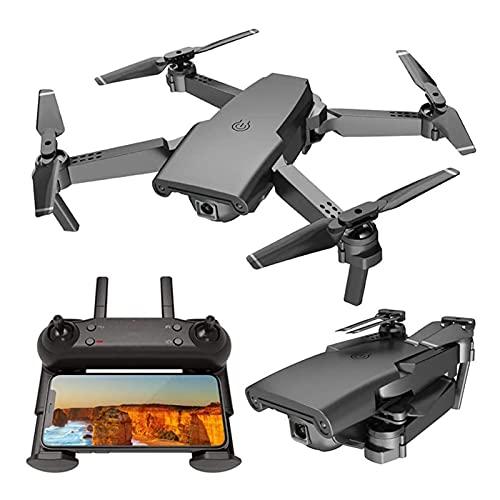 JAJU Drone GPS con Fotocamera per Adulti, Video Live 4K HD, Drone Pieghevole per Principianti, Piccolo Aereo telecomandato, modalità Smart Follow Senza Testa