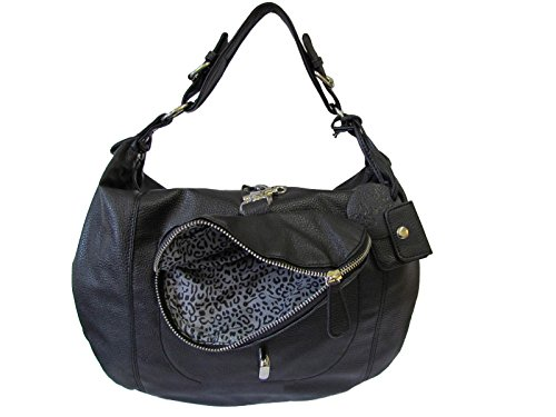 Friis & Company Tasche Damentasche Handtasche Tragetasche Cast Bag Black (B39 x H32,5 x T12 cm)