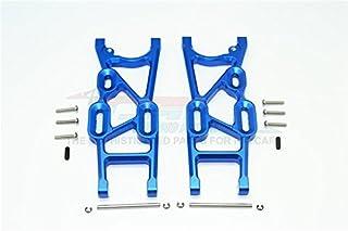 Thunder Tiger Truck K-ROCK MT4-G5 Upgrade Parts Aluminum Rear Lower Arms - 1Pr Set Blue