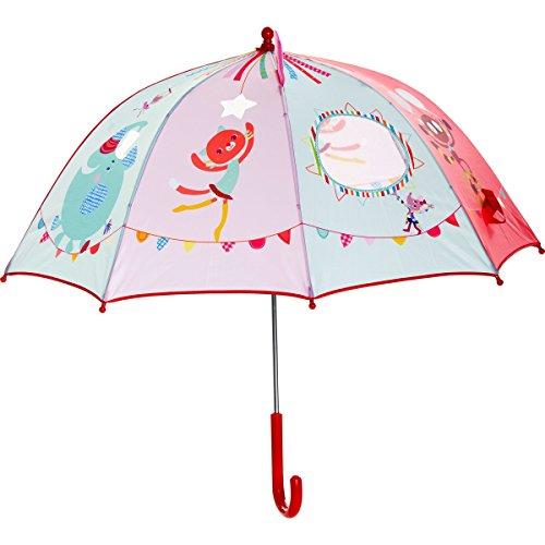 Liliputiens Cirque Regenschirm, 1 Stück, 86802, mehrfarbig, Einheitsgröße