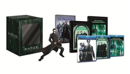 Matrix Trilogy Collection - 3-Disc Box Set & Neo Resin Statue ( The Matrix / The Matrix Reloaded / The Matrix Revolutions ) (Blu-Ray & DVD Combo) [ Italienische Import ] (Blu-Ray)