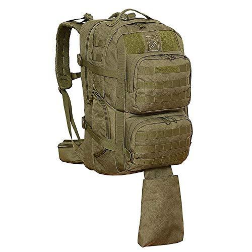 Neu HALTI taktischer Rucksack Moyo Plus mit MOLLE System, Tragevorrichtung für Waffen, Patronenhalter