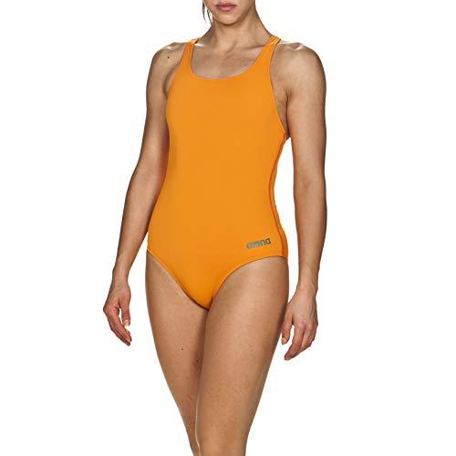 ARENA Madison Swim Pro Back MaxLife Badeanzug für Damen, Damen, Badeanzug, Madison Swim Pro Back MaxLife One Piece Swimsuit, Mango, 36