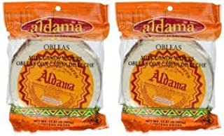 Amazon.com : Aldama Oblea Chica Milk Candy Dulce De Leche Mexican Candy 10 Small Pieces Sealed : Grocery & Gourmet Food