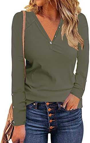 Naletuoy Women's Henley T Shirts Casual...