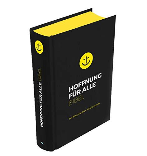"""Hoffnung für alle. Die Bibel - """"Black Hope Edition"""" - Mittelformat mit Banderole: Die Bibel, die deine Sprache spricht"""
