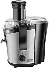 Black+Decker 700w Performance Juice Extractor, Prje700-b5, Silver