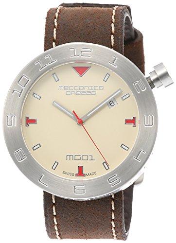 [メカニカグレッツァ] 腕時計 0144S-AVDB 正規輸入品 ブラウン