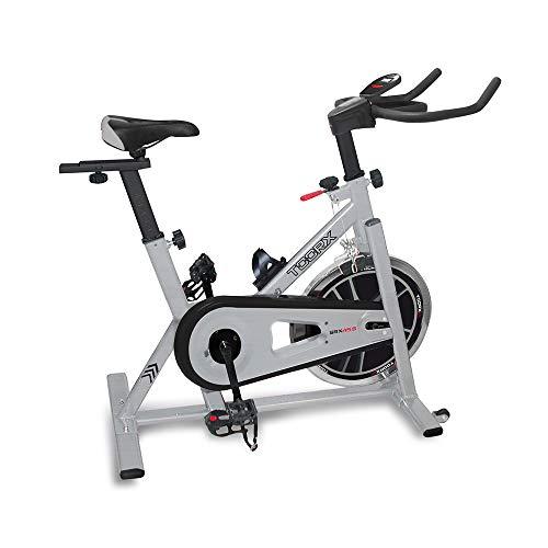 Toorx, Cyclette SRX-45S Unisex adulto, Nero, 107x20,5x83