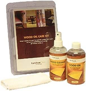 Furniture Clinic - Komplettes Möbelpflege Set zur intensiven Reinigung und Pflege alle Holzmöbel. Das Premium Set beinhaltet 250ml spezieller Holz Reiniger und 250ml Holzöl