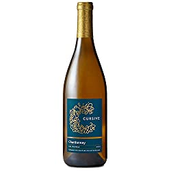 Cursive Chardonnay, California, 750 ml