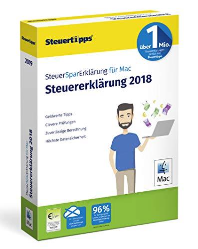 SteuerSparErklärung 2019, Schritt-für-Schritt Steuersoftware für die Steuererklärung 2018, Steuer CD-Rom für Mac: OS X (ab 10.11 El Capitan)
