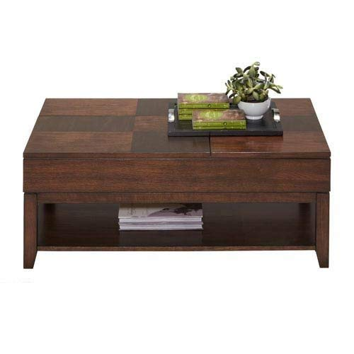 Double Lift Top Cocktail, Regal Walnut