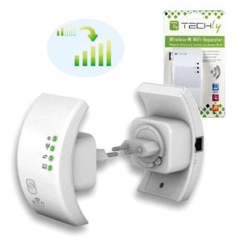 Ripetitore WIFI Ripetitore Wireless 300N (Range Extender) ad alto guadagno per estendere la portata della rete senza fili