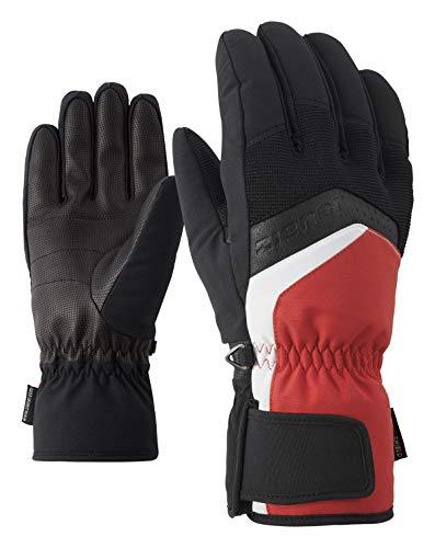 Ziener Herren GABINO glove ski alpine Ski-handschuhe, , rot (red pop), 8