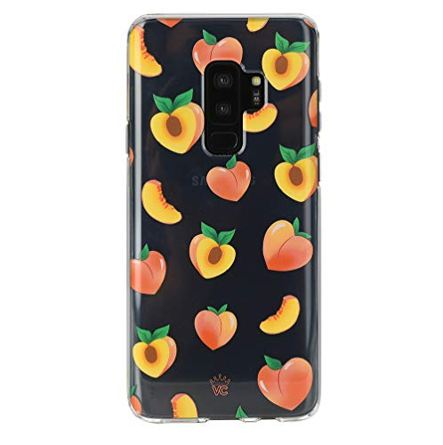 Velvet Caviar Compatible with Samsung Galaxy S9 Plus Case Peach Clear for Women & Girls - Cute Protective Phone Cases [Drop Test Certified] (Peachy Orange)
