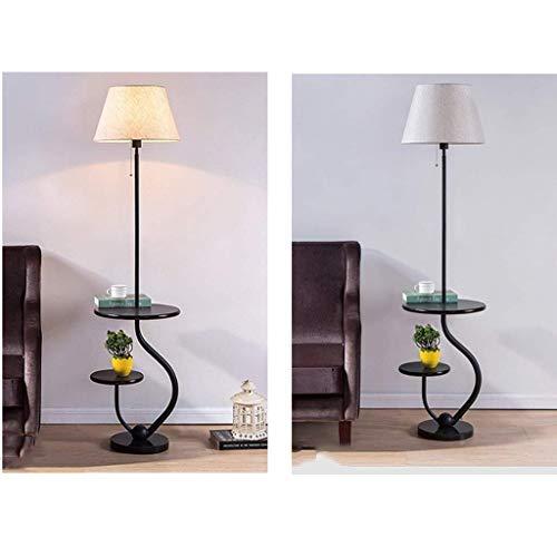 HYY-YY - Lámpara LED de pie para salón, moderna, sencilla y moderna, ideal para el dormitorio, creativa, lámpara de pie, cuidado de ojos, luz de suelo vertical, B (color: B)