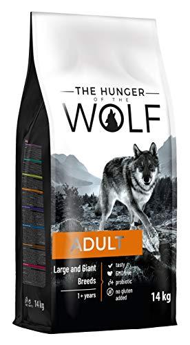 The Hunger of The Wolf Hundetrockenfutter für erwachsene Hunde großer und sehr großer Rassen für eine gute Gelenkgesundheit, 14 kg