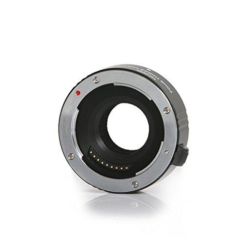 Adaptador para Objetivo con Autofocus Movo MTM100 para Cámaras sin Espejo Micro Cuatro Tercios (Olympus Pen, Panasonic Lumix, Blackmagic) para adaptar Objetivos Olympus E-Volt de Cuatro Tercios