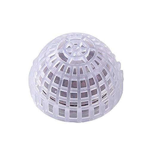 YUIOLIL Filtro de Bola de Musgo Filtro de pecera de plástico con Mascotas Bolas minerales para decoración de pecera Plantas vivas Medios de Acuario