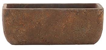 Classic Home and Garden 240001P-433 Dakota Trough Rust Large