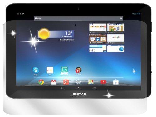 dipos I 2X Schutzfolie klar kompatibel mit Medion Lifetab E10320 Folie Displayschutzfolie
