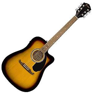 Fender FA-125CE Dreadnought Electro Acoustic Guitar 6