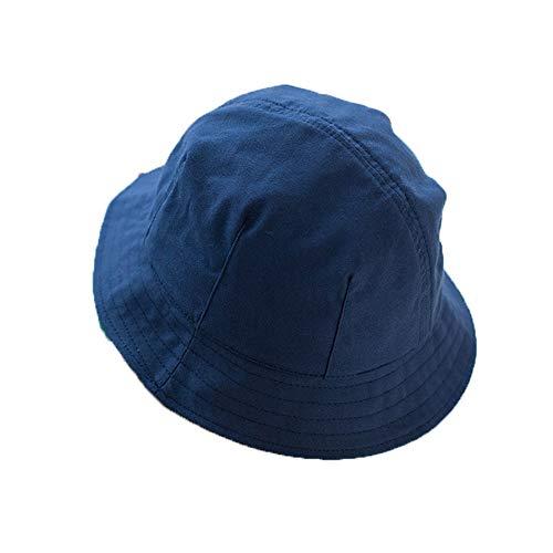 Monocromo / bicolor sombrero de pescador de doble cara para mujer, borde pequeño, sombrilla de...
