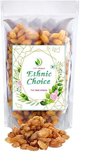 Ethnic choice Raisins with Seeds Large Munakka Export Quality, King Size, 500g