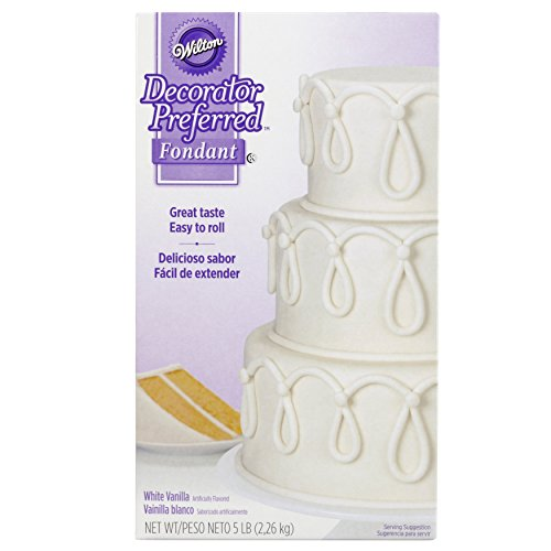 Wilton Decorator Preferred White, 5 lb. fondant, Pack of 1