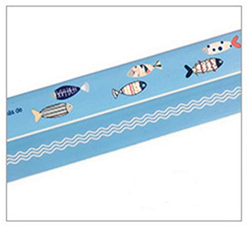 Wasserdicht Cartoon Badewanne Caulk Streifen Self Adhesive Wanne und Wand-Dichtband Caulk Sealer 3Pack Für die Küche Bad (Color : B)