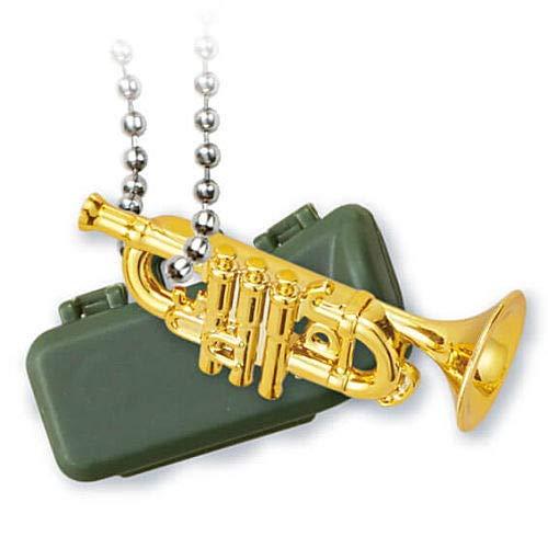 キラメッキ楽器#13 [8.トランペット(ゴールド)](単品) ガチャガチャ カプセルトイ