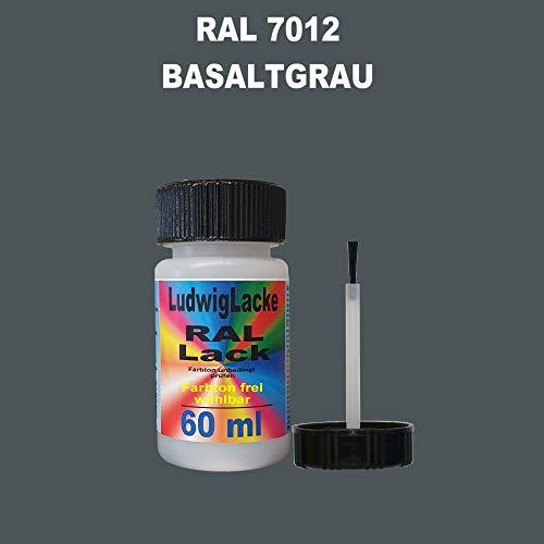 60 ml Lackstift mit Pinsel im Farbton RAL 7012 Basaltgrau