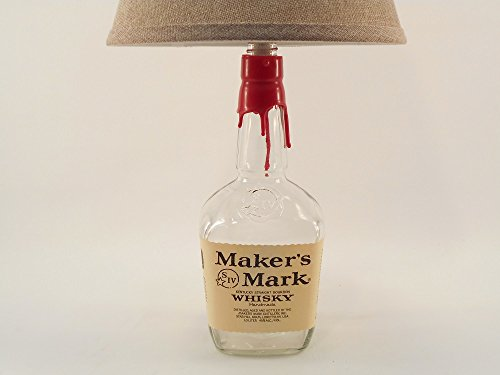 MAKER'S MARK Whisky Bottle Lamp