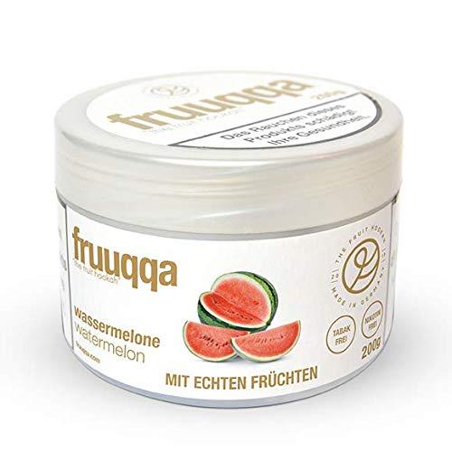 Fruuqqa Shisha Tabakersatz Nikotinfrei 200gr Wassermelone