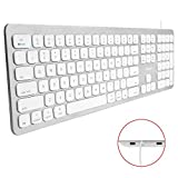 Best Keyboards For Macs - Macally Ultra Slim USB Wired Keyboard for Mac Review