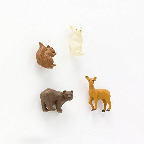 Midori Mini Magnet, Forest Animals (49758006) Photo #2