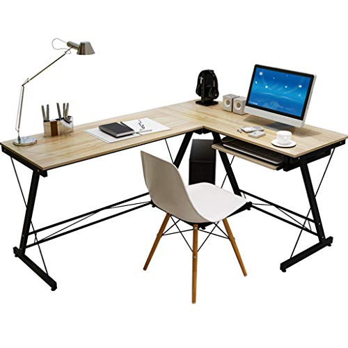 PC Tisch Bürotisch Laptop-Schreibtisch Schreibtisch for zu Hause Moderner minimalistischer Eckschreibtisch Bücherschrank Kombination Wirtschaftlicher Provinzialraumtisch Arbeitstisch Esstisch Büromöbe